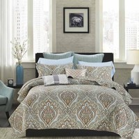 plaids covered New style plain weave100%cotton bedspreads bed cover three piece TRACKS AND COVERED plaid on the bed