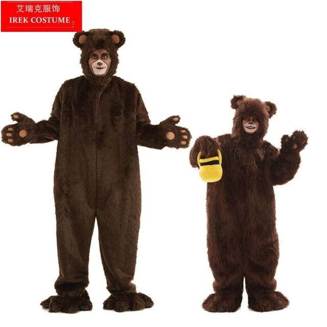Irek caliente de Halloween Costume party oso marrón cosplay de calidad superior gran oso pardo rendimiento  sc 1 st  AliExpress.com & Irek caliente de Halloween Costume party oso marrón cosplay de ...
