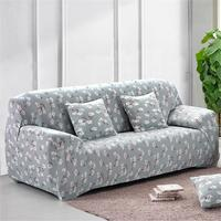Fashion Couch Cover Stretch Sofa Slipcover Sofa Cover 1 2 3 4 Seater Floral Polyester Home