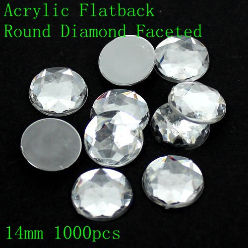 Acrylic Rhinestones Flatback Round Special Faceted Many Sizes Crystal Color Glue On Beads DIY Crafts Jewelry Making Decorations semantic association of faceted taxonomies
