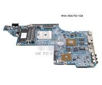 NOKOTION 650854 001 MAIN BOARD For HP Pavilion DV6 DV6 6000 Laptop Motherboard Socket FS1 DDR3 HD6750 1GB