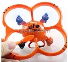 Free Shipping New Arrival U207 4 CH 2 4GHz Mini Nano RC UFO Quadcopter with 6