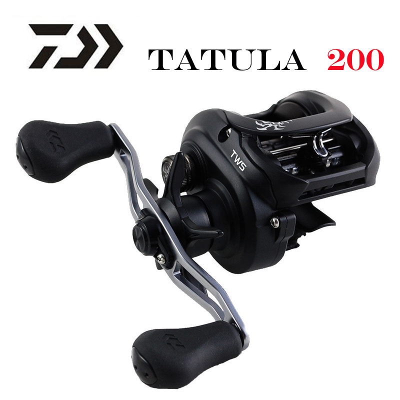 Новинка 2019, низкопрофильная Рыболовная катушка DAIWA TATULA 200 H 200HL 200HS 200HSL, катушка для заброса 7BB + 1RB