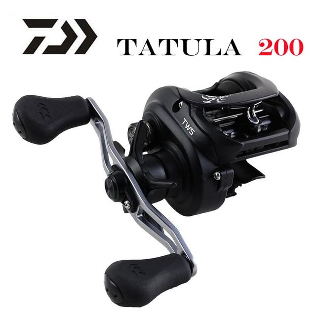 Nouveau 2019 DAIWA TATULA 200 H 200HL 200HS 200HSL moulinet de pêche à profil bas 7BB + 1RB