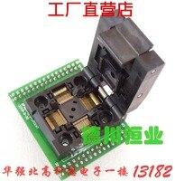 Qfp64 chip teste estande ic envelhecimento assento stm32 estação de programação FPQ-64-0.5-06