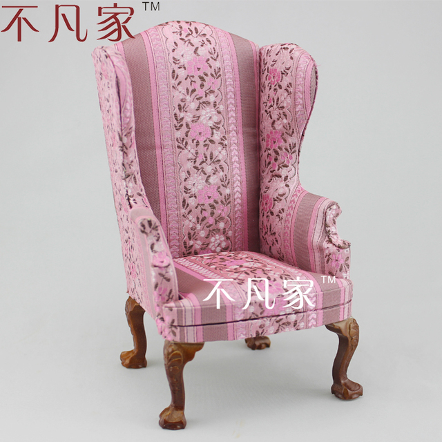 BJD Furniture 1/6 Scale Beautiful Well Made Elegant Armchair For AZONE