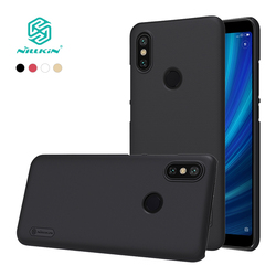 For xiaomi mi 6x Case Cover NILLKIN Frosted PC hard back cover with Gift Phone Holder For xiaomi mi a2 case 5.99'' for mi6x case