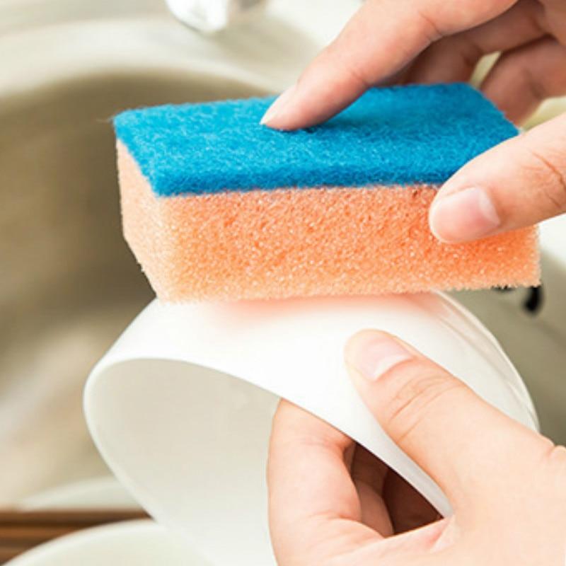 10pcs New Arrival Multi-functional Kitchen Bathroom Cleaning Tools Nano Sponge White Magic Sponge Eraser Melamine Cleaner Aromatic Flavor Household Cleaning Sponges & Scouring Pads
