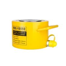 100 тонн короткий тип гидравлический цилиндр RSC-10050 ход гидравлического домкрата 50 мм нужно использовать с гидравлическими насосами