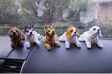 New product car cute bobblehead dog doll car nodding dog shaking dog for car decorations furnishing articles