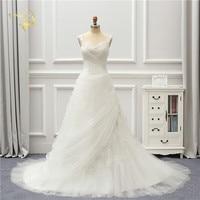 Jeanne Love Tulle Wedding Dress 2018 Lace Robe De Mariage A Line Sweetheart Vestido De Noiva Brida Beads JLOV76001 Wedding Gowns