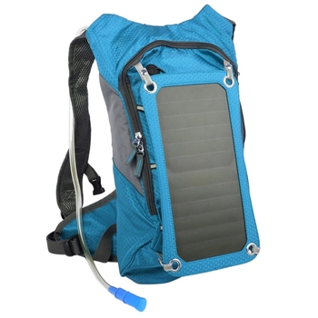 Double Shoulder Solar Backpack