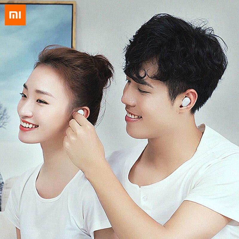 100% Original Xiaomi AirDots auricular Bluetooth juventud versión estéreo mi ni inalámbrico Bluetooth 5,0 auriculares con mi c auriculares - 5