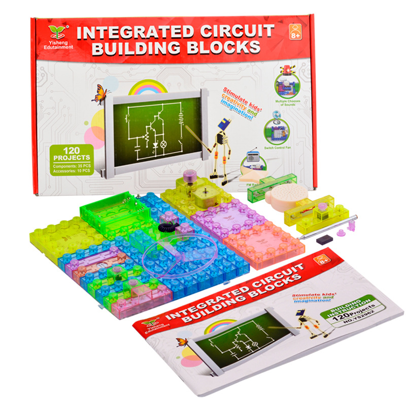 Genuine Electronic Integration Of The Building Blocks Of 120 Assembled Science And Education Toy Model Creative Gifts  dincer ozer and hasan ayd n integration of turkish women in the netherlands