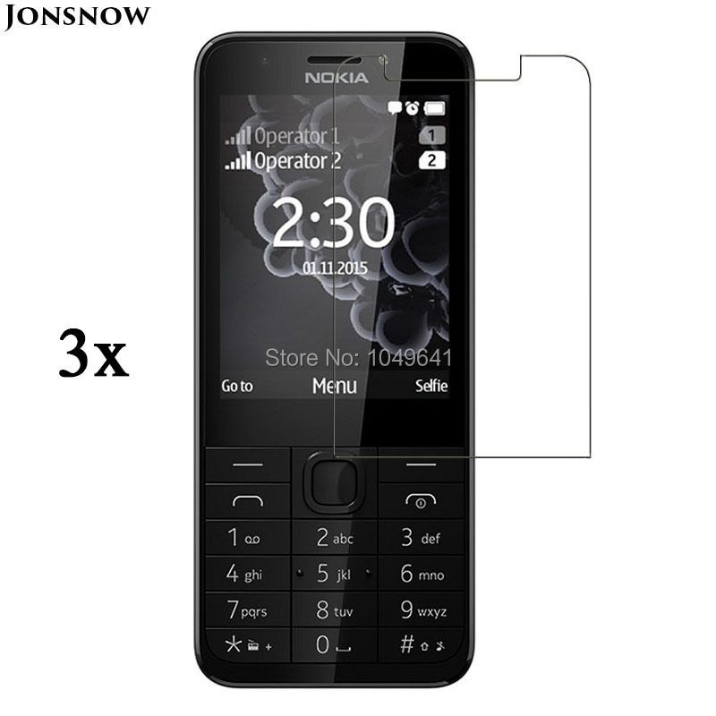 Screen Protector For Nokia 230 Nokia 230 Dual SIM Screen Protector Film Glossy Matte Front Transparent LCD 3pcs