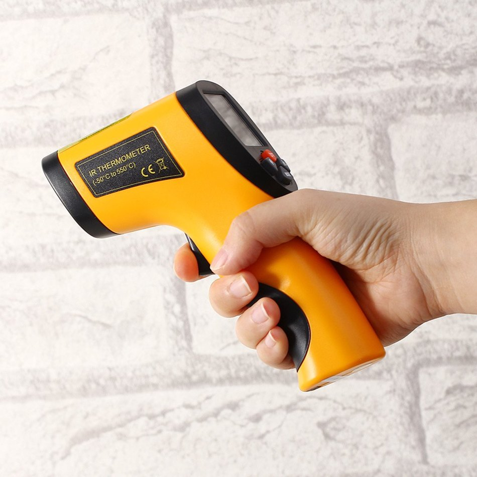 Temperature Thermometer Gun Taisheng Htd8808 Infrared Non Contact Ir Digital Display 950x950