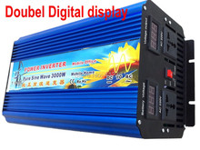 zuivere sinus omvormer 3KW 3000W Power Inverter Pure Sine Wave 12V DC to 220V AC Converter Solar inverters AC Power Supply цена