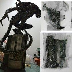 Высокое качество 1:4 масштаб Alien AVP Vs Predator Warrior Maquett полимерная модель статуя Recast