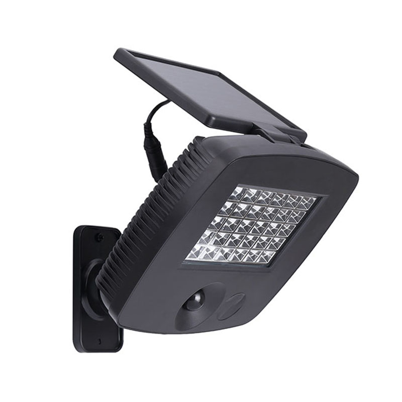 pir infrared induction wireless solar power flood light security reflector lamp wall spotlight for garage garden