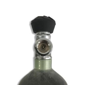 Image 4 - AC121710 2019 CE 認証ため 2.17L 炭素繊維シリンダーペイントボールタンクバルブ Pcp エアガン狩猟用空軍 Pcp