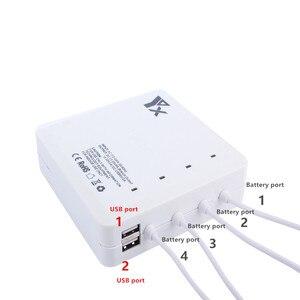 Image 3 - 6 in 1 Drone Batterij afstandsbediening oplader Intelligente Opladen met Usb poort Voor DJI Mavic air Accessoires