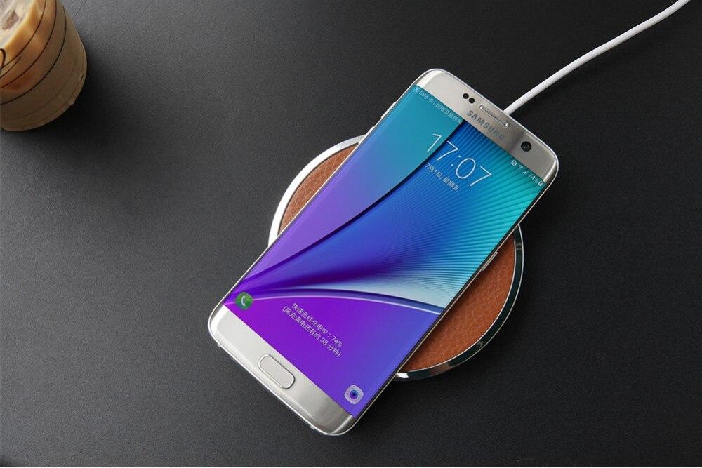 NILLKIN קסם דיסק II אוניברסלי צ ' י מטען אלחוטי עבור סמסונג s6 edge s7 קצה lumia 950 עבור iphone 5s מטען אלחוטי המכשיר