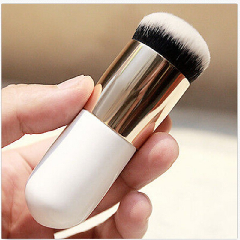 Новый пухлые Pier Основа для макияжа лица Кисточки Телевизор с кремом Макияж Расчёски для волос Профессиональная Косметика Make-Up Кисточки