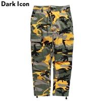 Camouflage Men S Cargo Pants Full Length 2017 Spring Multy Camo Hip Hop Pants Men Women