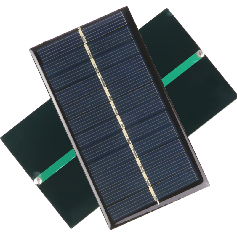 Solar Panel Portable Mini 6V 1W Sunpower DIY Module Panel System For Solar Lamp Battery Toys Phone Charger 110*60mm Solar Cells 110w 12v flexible solar panel diy battery system sunpower solar cells charger for rv boat car with 1 5m cable 1180mmx540mm