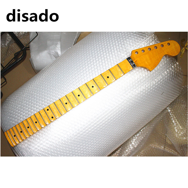 disado 21 22 24 Frets big headstock maple Electric Guitar Neck maple scallop fretboard glossy paint guitar parts accessories disado 21 22 24 frets big headstock maple electric guitar neck maple scallop fretboard glossy paint guitar parts accessories