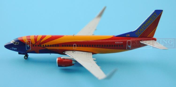 GJSWA1472 GeminiJets Southwest Airlines N383SW 1:400 737-300W commercial jetliners plane model hobby чехлы для телефонов nillkin чехол nillkin sparkle leather case для samsung g7106 7102 galaxy grand 2