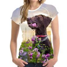 Noisydesigns Cute Puppies Print Short Sleeve Women T Shirt Fashion Breathable Tops Tee Shirt for Female Riverdale Fitness Shirt(China)