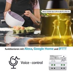 Image 3 - Tuya Cuộc Sống Thông Minh Wifi Mô Đun 15A Alexa Echo Google Home Điều Khiển Bằng Giọng Nói, Ứng Dụng Điều Khiển Từ Xa, Đèn bộ Hẹn Giờ Cho Thiết Bị