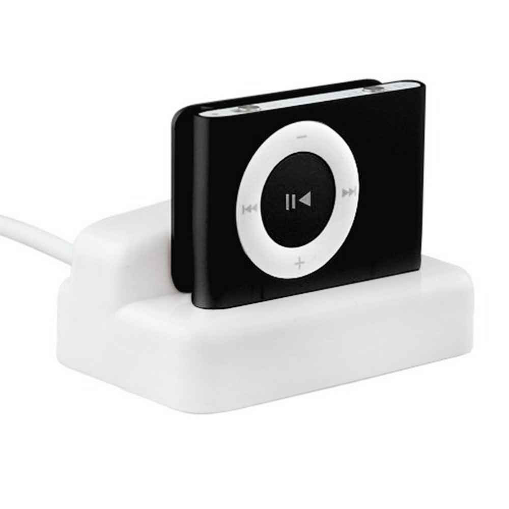 Newest USB Charger & Sync Replacement Docking Station Cradle for Apple for iPod for Shuf ...