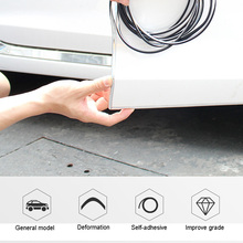 5m car sticker door cover anti-collision strip carbon brazing electroplating styling modified supplies