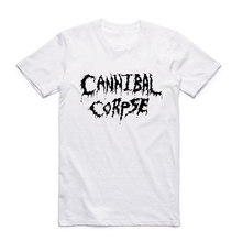 Asian Size Men Print Death Metal Band Cannibal Corpse Fashion T Shirt Summer Casual O-Neck Short Sleeve Homme T-shirt HCP997