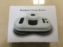 One key start remote control wet and dry robot window cleaner , auto window cleaning robot