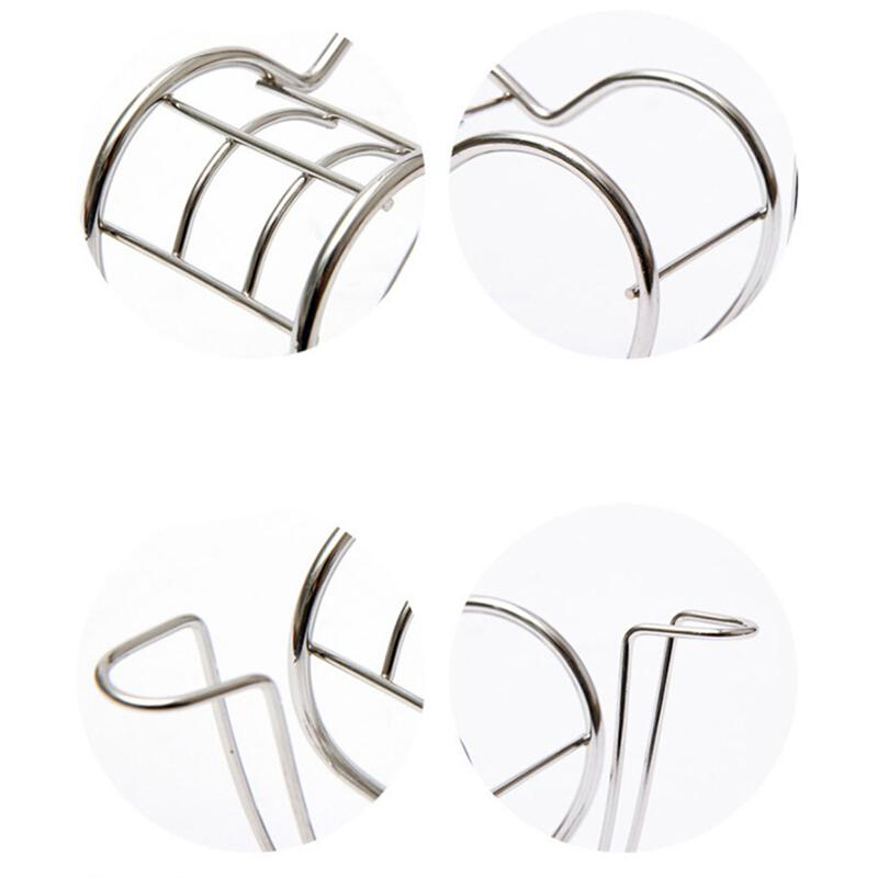 Image 5 - Creative Toothbrush Holder Heart Shape Stainless Steel Toothpaste Toiletries Storage Rack For Home Bathroom Bedroom Daily Use-in Toothbrush & Toothpaste Holders from Home & Garden