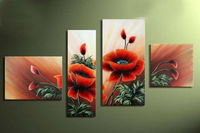 4 Pcs Set New Hot Diy Diamond Painting Square Drill Home Decor Painting Cross Stitch Embroidery