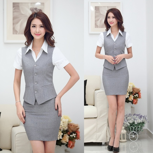 Aliexpress.com : Buy Summer Fashion Women Business Suits with ...