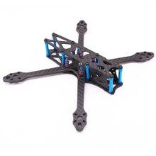Streç X5 Freestyle FPV çerçeve 6mm kol yarış drone iskeleti kiti gibi X5 JohnnyFPV baskı 5 inç pervane 22XX motor