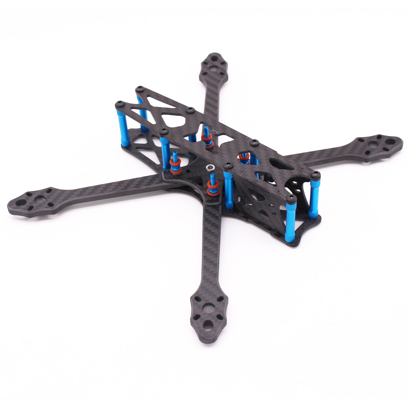 Strech X5 Freestyle FPV Frame 6mm Arm Racing Quadcopter Frame Kit like X5 JohnnyFPV edition for 5 inch prop 22XX motor-in Parts & Accessories from Toys & Hobbies