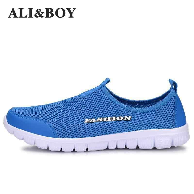 ALI ve ERKEK Yeni Erkek/Kadın Hafif Örgü koşu ayakkabıları, atletik spor ayakkabılar Rahat Nefes erkek Spor Ayakkabı Çalıştırmak Shox Boyutu 34-46