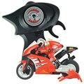 Divertidos mini na bicicleta de estrada rc elétrico da motocicleta rádio controlado motocicleta com sofisticado gyro sistema juguetes para crianças 8112