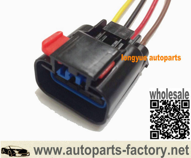 longyue 2pcs glow plug wiring harness connctor pigtail 8 case for rh aliexpress com Wiring Harness Terminals and Connectors Wiring Harness Terminals and Connectors