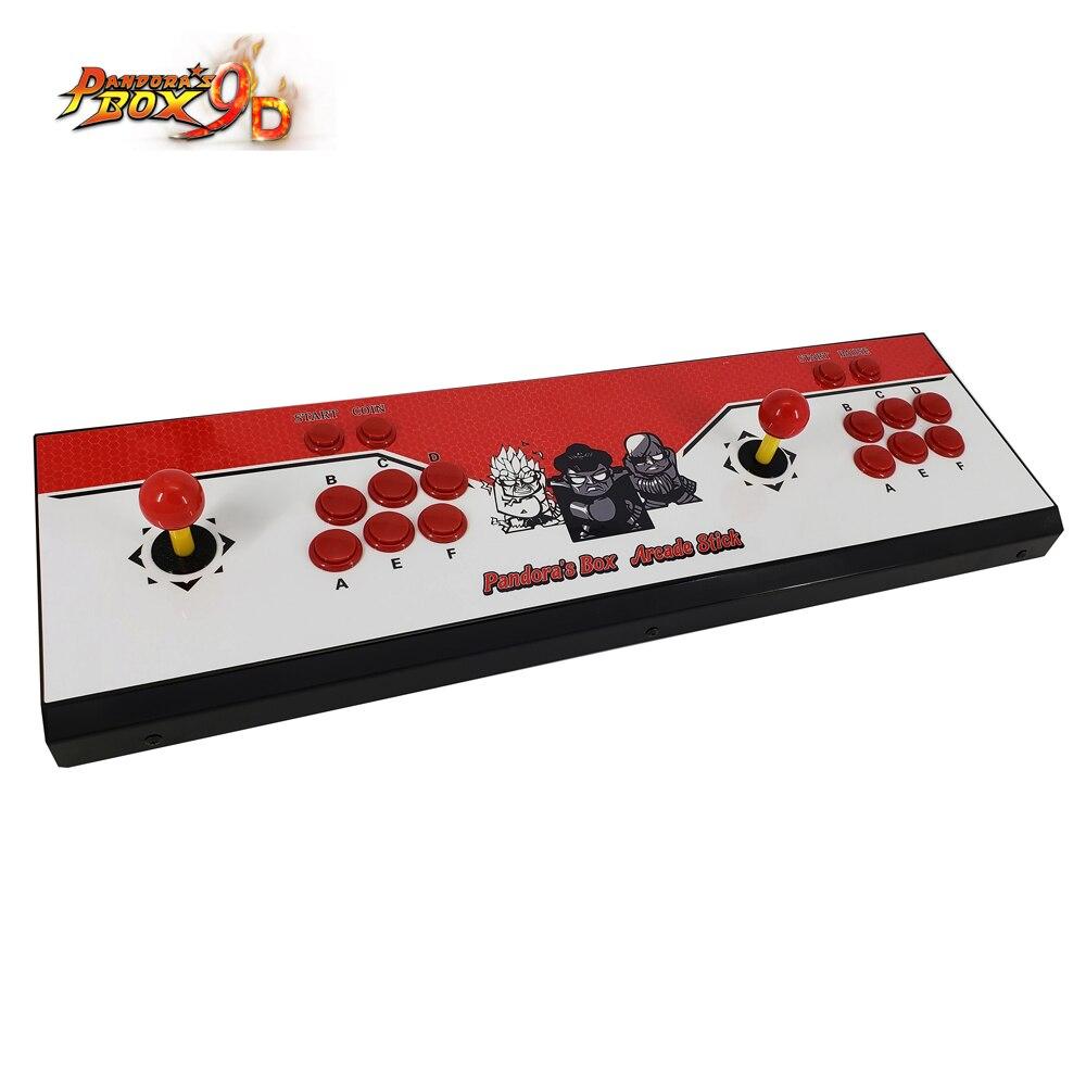 Nouveauté Machine d'arcade à monnayeur avec jeu classique pandora box 9D