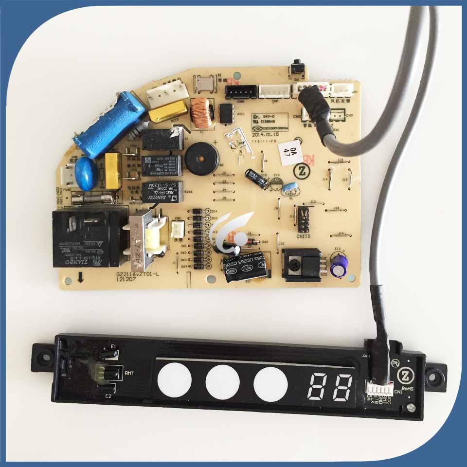 2pcs Set air conditioning Computer board DK 26A3 VT GZ2116vZT01 L display board CH76M used