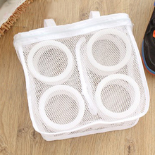 Portable Washing Bags Storage Organizer Bags Mesh Laundry Shoes Bags Dry Shoe Organizer