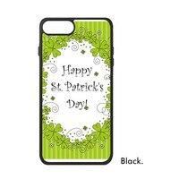 Irlande Trèfle drapeau National Vert Heureux Saint Patrick Day Célébrer de Téléphone Cas pour iPhone X 7/8 Plus Cas Phonecase couverture