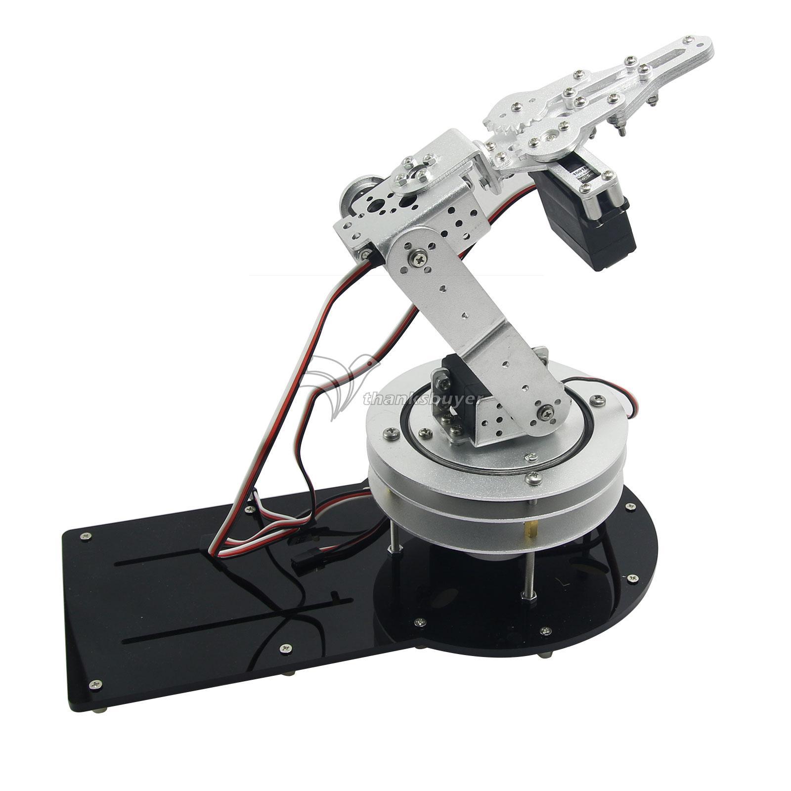 Estrutura de Metal Titular Braço Mecânico montado 4DOF Rotating Bracket com  LD-1501MG Servo para Robô 6ca015bc3be